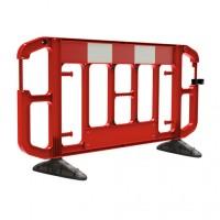 Barrière de chantier TITAN 2m rouge JSP