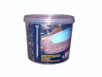 Vis terrasse tête réduite VBA 3 torx inox A2 5x60mm, seau 1000