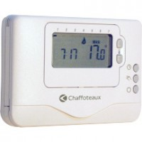Thermostat programmable easy control CHAFFOTEAUX
