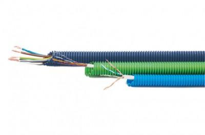 Gaine préfilée diamètre 16mm 3x1.5 PM SRL PLASTIC MATERIALS
