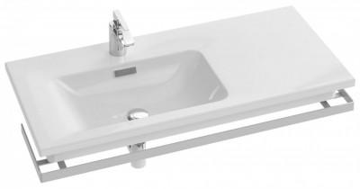Plan-vasque VOX 100cm gauche blanc JACOB DELAFON