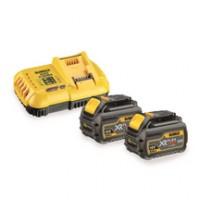 Pack 2 batteries FLEXVOLT + chargeur rapide 18/54V 3/9Ah