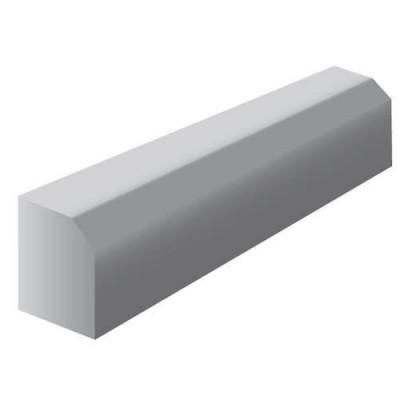 Bordure A2 classe T NF gris longueur 1m BONNA SABLA