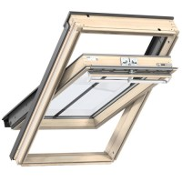 Fenêtre de toit à rotation VELUX GGL Tout Confort bois MK06 -  78x118cm