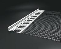 Profilé entoilé PVC IPAC12 pour isolant 12mm 2,5m