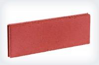 Bordure lisse droite rouge 5x50cm hauteur 20cm MARLUX