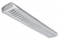 Plafonnier SYLMASTER Paralume blanc 2x36W Ballast électronique SYLVANIA