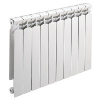 Radiateur en aluminium ROYAL 60 H673 10 éléments 1190watts DECORAL