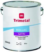 Peinture ROLLAC SATIN blanc 5l TRIMETAL