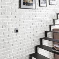 Briquette de décoration 1300-B blanc 265x40x25mm ESKITAS