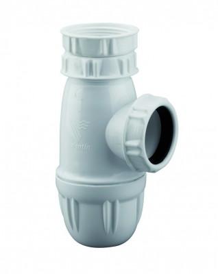 Siphon pour évier en plastique à culot VALENTIN