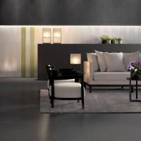 Carrelage ARCHITECTURE black gloss 45x90cm CASALGRANDE