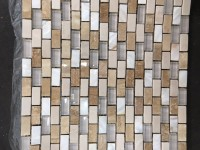 Faïence TRAVERTINE STONE mosaico nacar 30x30cm COLORKER