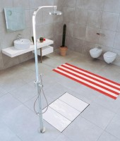 Receveur de douche FLAMINA 4 plots 140x75cm WOLSELEY