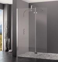 Paroi de douche fixe KINESPACE DUO avec volet de douche 90+45cm KINEDO DOUCHE