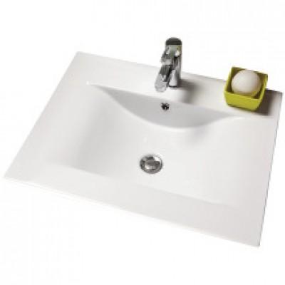Plan céramique SEDUCTA 60cm blanc