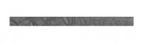 Listel faïence IRIS URBAIN Style leaf nero 3x45cm GRANITIFIANDRE