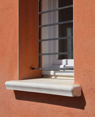 Appui de fenêtre ACCORDANDE blanc 34x80cm WESER