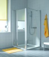 Paroi de douche fixe AT TWD argent poli 2000x800mm ROTHALUX