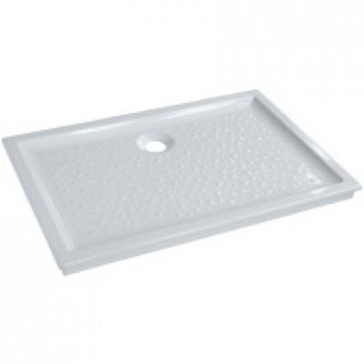 Receveur à encastrer PRIMA 120x80cm extra plat blanc ALLIA