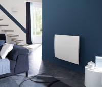 Radiateur acier ONIRIS PILOTAGE horizontal blanc 1500W