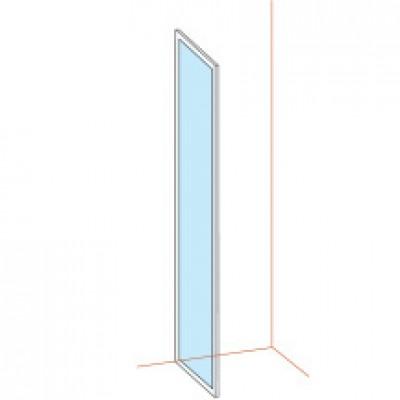 Paroi fixe BASIC  largeur 76/79mm verre sérigraphié BASIC SEGMENT