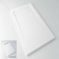 Receveur de douche MOON X texture lisse blanc 81-90x111-120 HIDROBOX