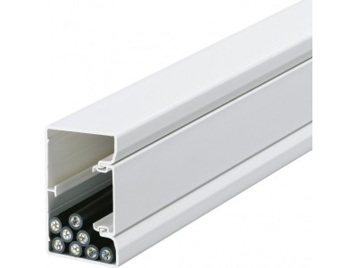 Goulotte d'installation blanc HAGER