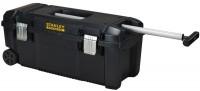 Boîte à outils étanche FATMAX poignée télescopique et roulettes