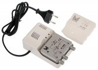 Amplificateur + alimentation 3 entrées UHF/VHF ALCAD