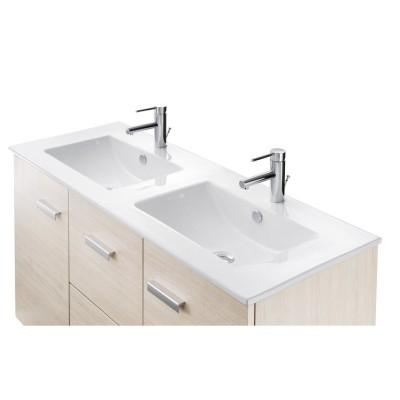 Plan vasque WOODSTOCK céramique L470 x l1200 x h25mm  ALTERNA