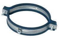 Collier universel galvanisé acier feutre diamètre 355mm ALDES