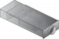 Système de ventilation EAT 250m³/h longueur 1300mm ALDES