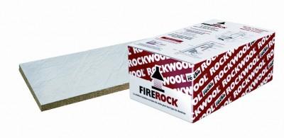 Laine de roche revêtue d'aluminium FIREROCK épaisseur 30mm 1x0.60m 0,60m²/plaque ROCKWOOL