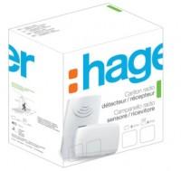 Pack Radio + Détecteur passage flash HAGER