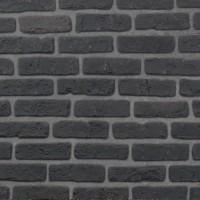 Briquette de décoration 1389-S noire 190x60x10mm ESKITAS