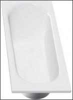 Baignoire rectangulaire VERSEAU 3 acrylique blanc 140x70cm
