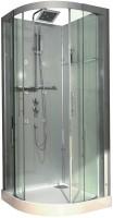 Cabine DOMINO un quart de rond 90x90cm hydro