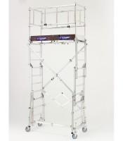 Echafaudage téléscopique X TOWER hauteur de travail 4m