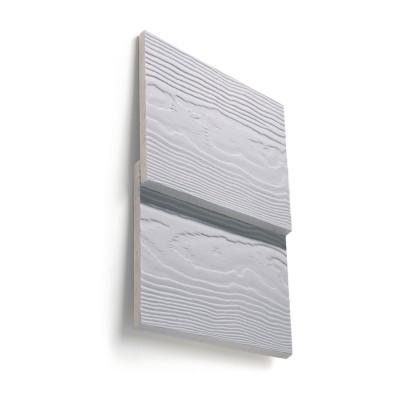 Bardage Cédral Lap Classic - fibres-ciment - gris - 10x190x3600 mm ETERNIT CEDRAL