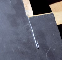 Crochet d'ardoise inox 17% pointe 2.4x90mm boîte de 900