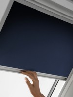 Store d'occultation DKL SK06 bleu foncé 1140x1180mm
