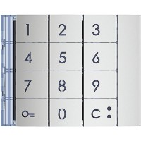 Façade clavier code ALLMETAL LEGRAND