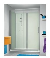 Cabine de douche en niche 140x80 KINEDO