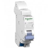 Disjoncteur embrochable 1P+N DCLIC XE 2 SCHNEIDER