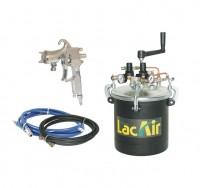Ensemble LACAIR pot 10 litres + pistolet FOGLESS