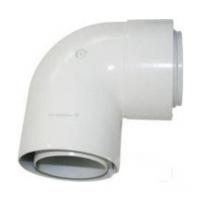 Coude concentrique angle 90° départ diamètre 100mm CHAPPEE