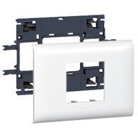 Support programme mosaïc 2 modules couvercle 85mm LEGRAND