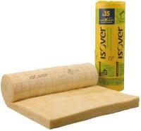Rouleau laine de verre revêtu ISOCONFORT 35 épaisseur 60mm R = 1,70m².K/W 10x1,2m ISOVER