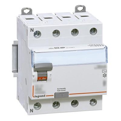 Interrupteur différentiel DX3-ID 4PG AC 25A 300MA LG41 LEGRAND